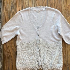 Knitted & Knotted Cardigan with detail